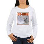 Boring Office Guy Women's Long Sleeve T-Shirt