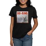 Boring Office Guy Women's Dark T-Shirt
