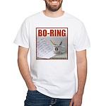 Boring Office Guy White T-Shirt