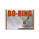Boring Office Guy Rectangle Magnet (100 pack)