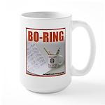 Boring Office Guy Large Mug