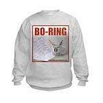 Boring Office Guy Kids Sweatshirt