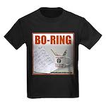 Boring Office Guy Kids Dark T-Shirt