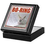 Boring Office Guy Keepsake Box