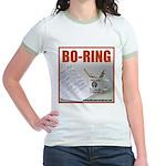 Boring Office Guy Jr. Ringer T-Shirt