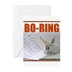 Boring Office Guy Greeting Cards (Pk of 20)