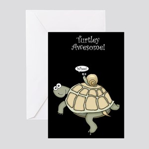 Turtley Awesome Thanks! Greeting Cards (Pk of 20)