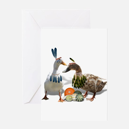 Funny Funny ducks Greeting Card