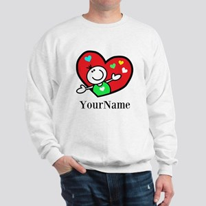 Happy Heart (p) Sweatshirt