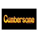 Cumbersome Rectangle Sticker