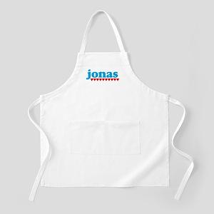 Jonas and Hearts BBQ Apron