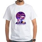 Sagittarius White T-Shirt