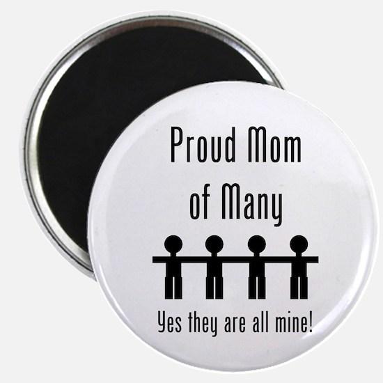Mom of Many - 4 kids Magnet