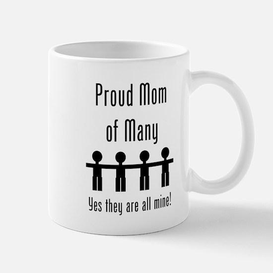 Mom of Many - 4 kids Mug