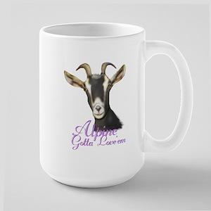 Alpine Goat Gotta Love'em Large Mug