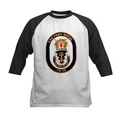 USS Boone FFG 28 Navy Ship Kids Baseball Jersey