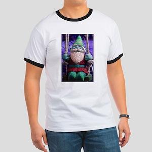 Emo Gnome Ringer T