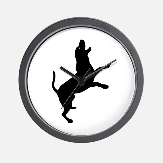 Treeing Walker Coonhound Wall Clock