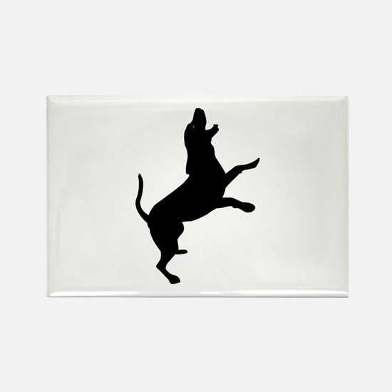 Treeing Walker Coonhound Rectangle Magnet