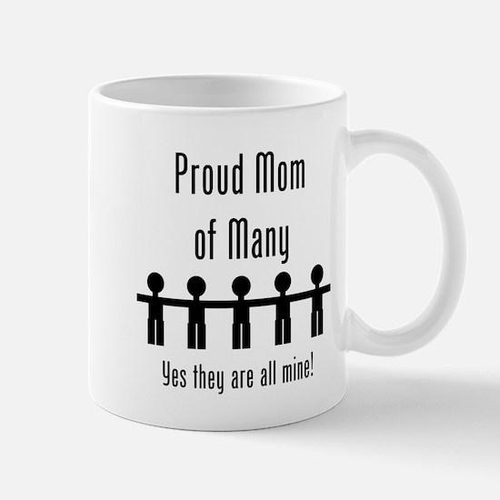 Mom of Many - 5 Kids Mug