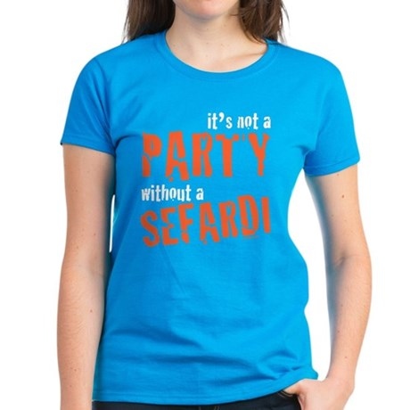Party Sefardi Women's Dark T-Shirt