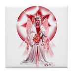 Angel of Blessings Tile Coaster