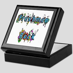Freshmen Rock Keepsake Box