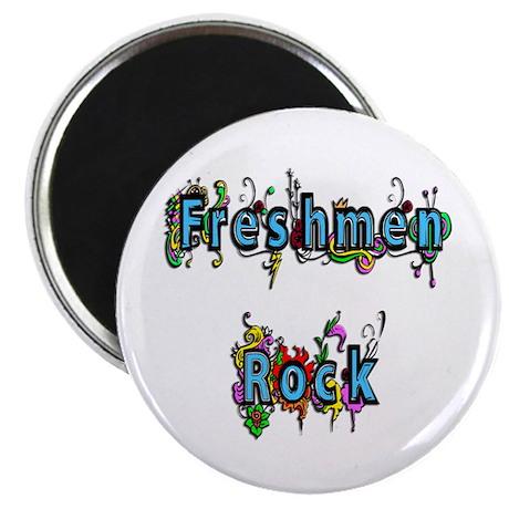Freshmen Rock Magnet