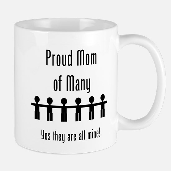 Mom of Many - 6 Kids Mug