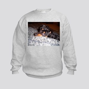 Min Pin Kids Sweatshirt