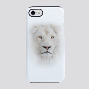 White Lion Head iPhone 7 Tough Case