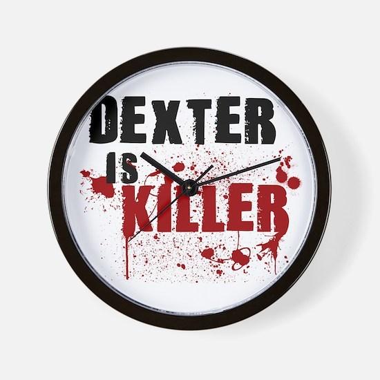 Dexter is Killer Wall Clock