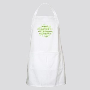 Plato Quote: Be Kind -- Apron