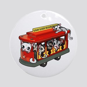 Sugar Glider Neighborhood Ornament (Round)