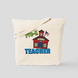 Pre-K Teacher Tote Bag