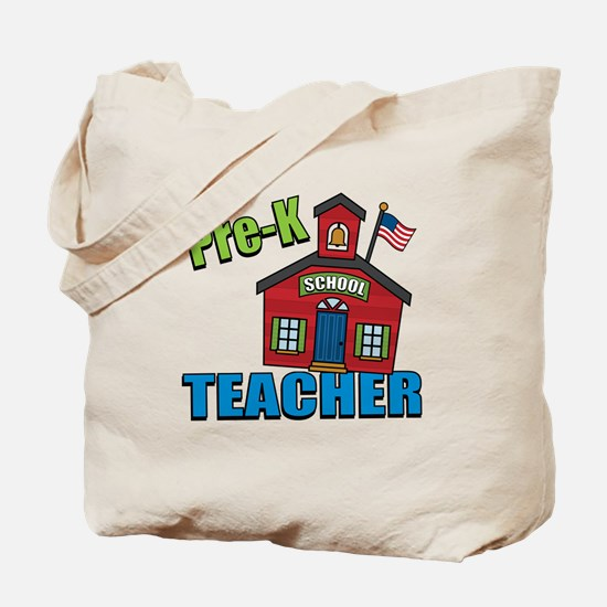 Pre-K Teacher Tote Bag