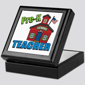 Pre-K Teacher Keepsake Box