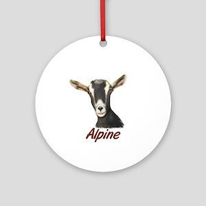 Alpine Portrait Annabelle Ornament (Round)