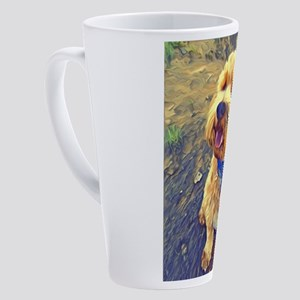 Cockapoo Art 17 oz Latte Mug