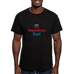 Republican Dad Men's Fitted T-Shirt (dark)