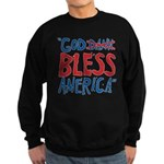God Bless America Sweatshirt (dark)