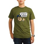 Conservatism Police Organic Men's T-Shirt (dark)