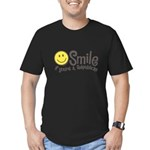 Smile if youre a Republican Men's Fitted T-Shirt (