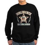 Delegate in Training Sweatshirt (dark)