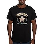 Delegate in Training Men's Fitted T-Shirt (dark)