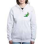 Bring Back Global Warming Women's Zip Hoodie