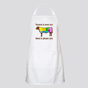 Meat to Please You Butcher's Apron