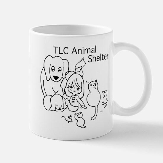 TLC Retro Logo Mug