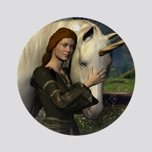 Dreaming True Fantasy Ornament (Round)