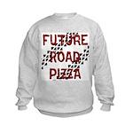 Future Road Pizza Kids Sweatshirt